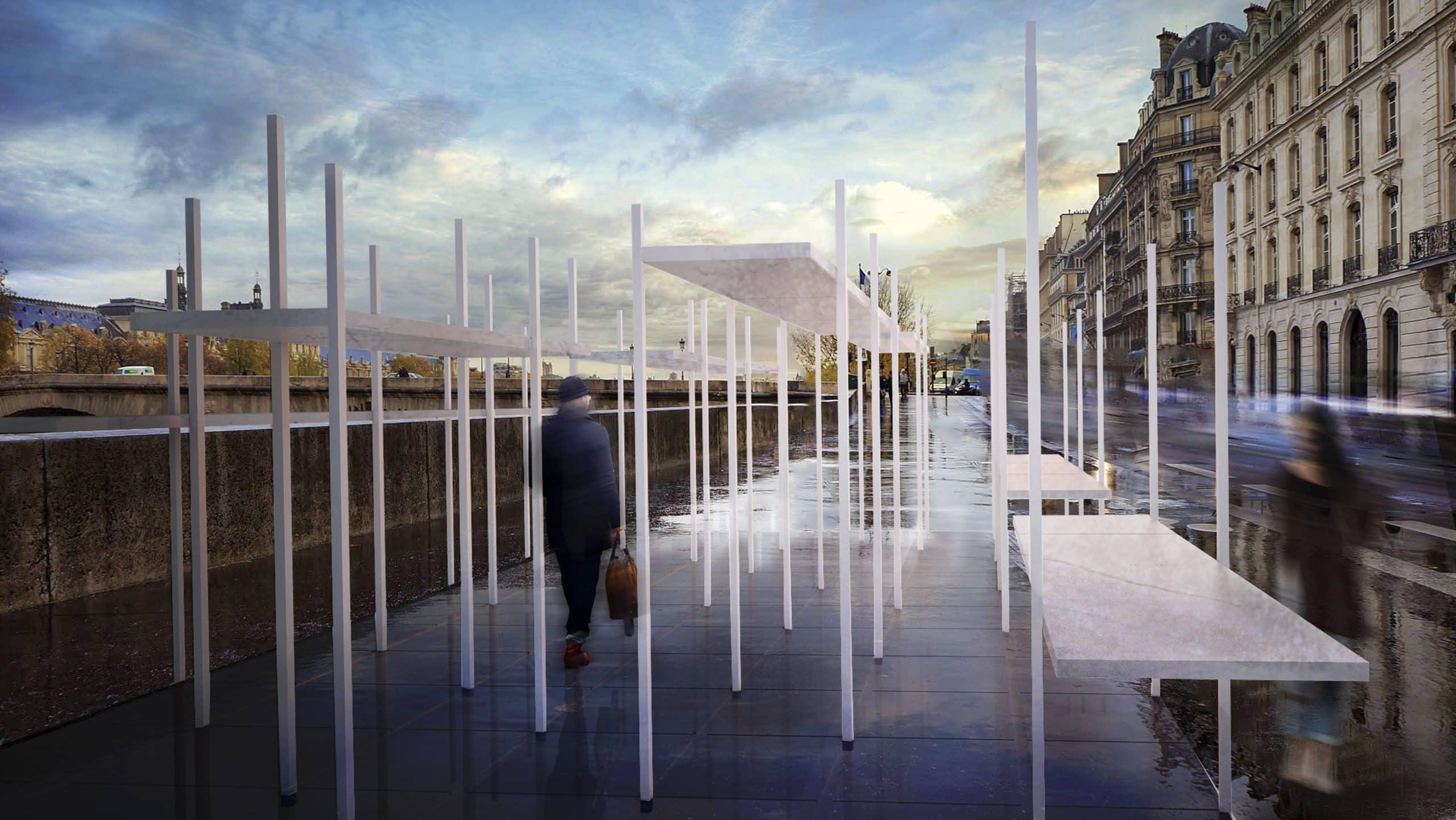 Concursos de Arquitectura Render primer premio