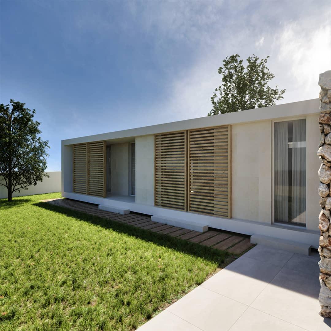 Casa en la colina de Valencia.