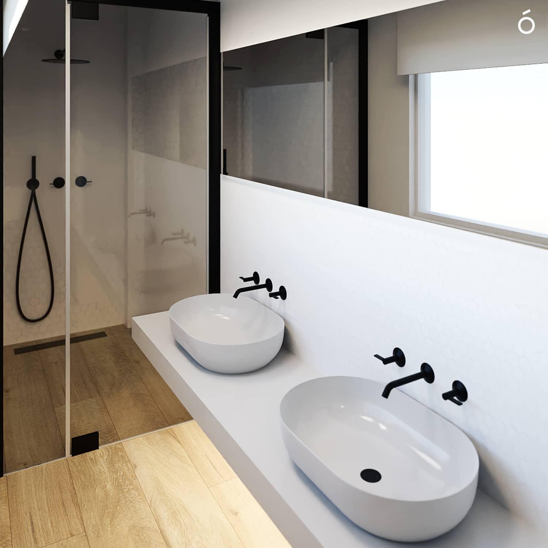 Baño habitación principal Casa Felis