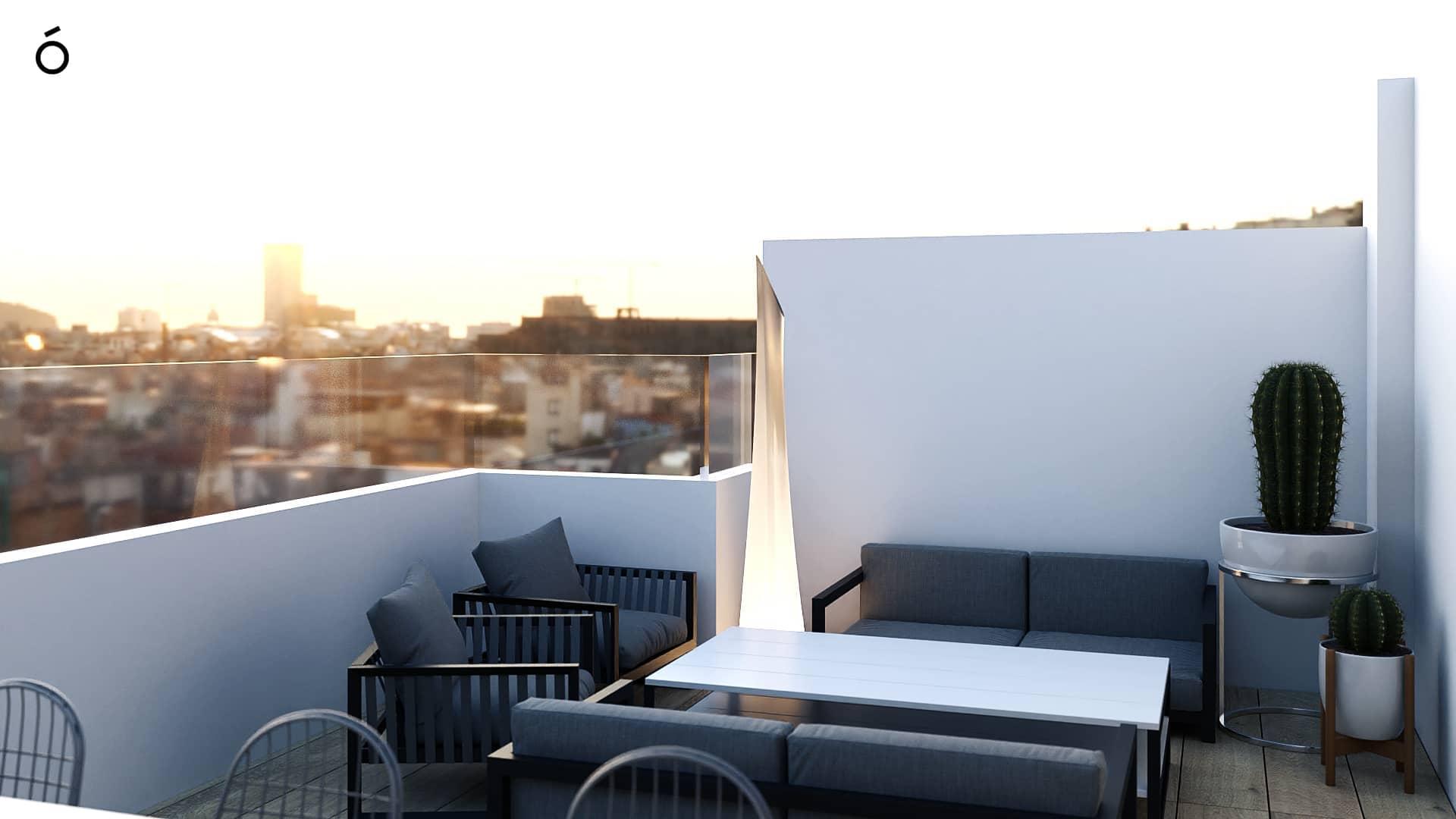 Interiorismo terraza Casa Felis