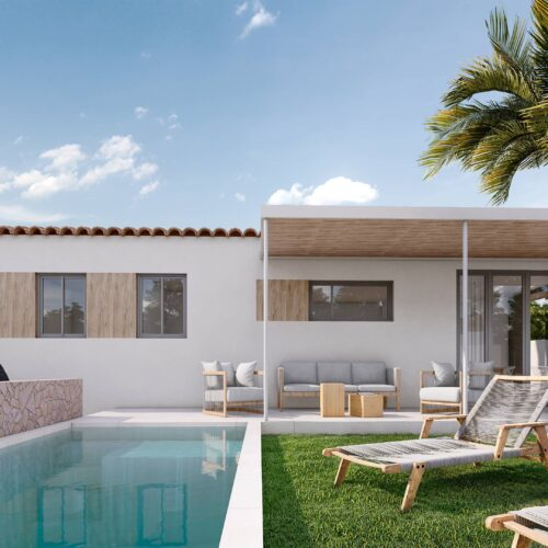 Casa Mediterráneo vivienda unifamiliar